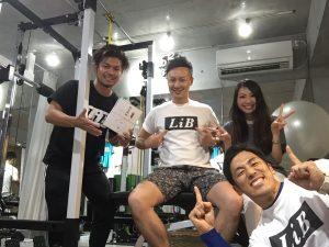 整骨院LiB-PersonalFitnessRoom- 佐々木恵太 平田雄貴