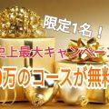 ~LiB史上最強キャンペーン~ 40万のコースが無料!!!
